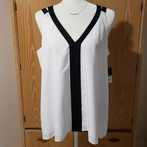 Project Runway tank top, NWT size L